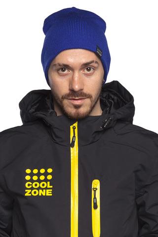 COOL ZONE горнолыжная шапка синяя