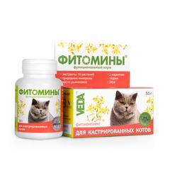 Фитомины для кастрированных котов 50гр.