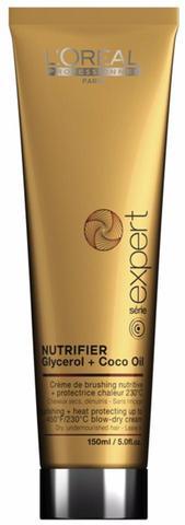 Термо-защитный крем для сухих волос,Loreal Nutrifier ,150 мл.