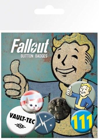 Набор значков Fallout