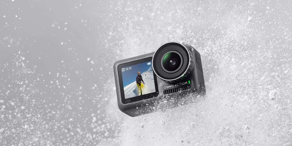 Экшн-камера DJI OSMO Action брызги