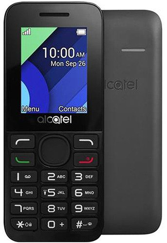 Мобильный телефон Alcatel One Touch 1054D Charcoal Gray