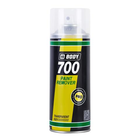 Смывка краски Body спрей 400мл 700