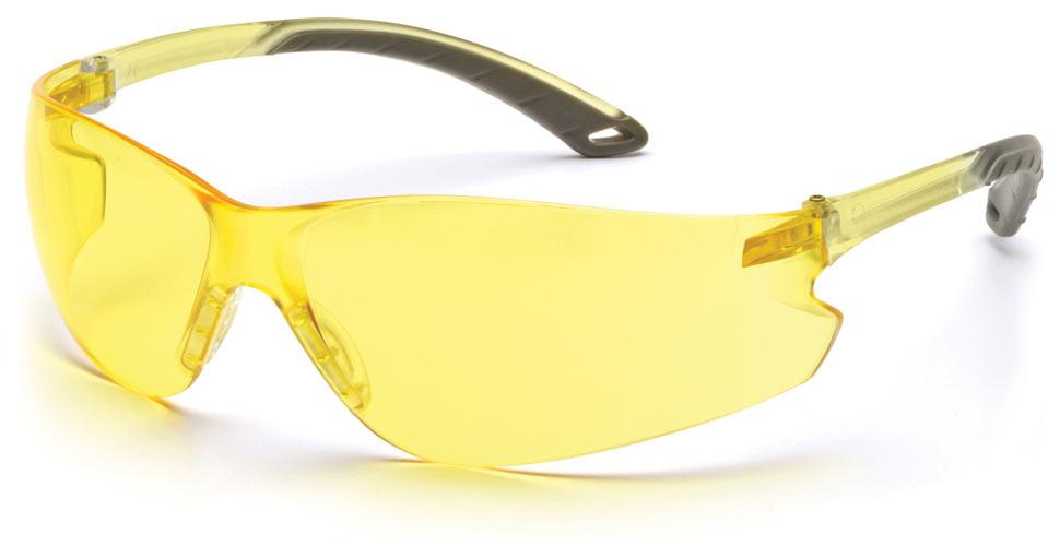 Очки баллистические стрелковые Pyramex iTEK S5830S желтые 89%