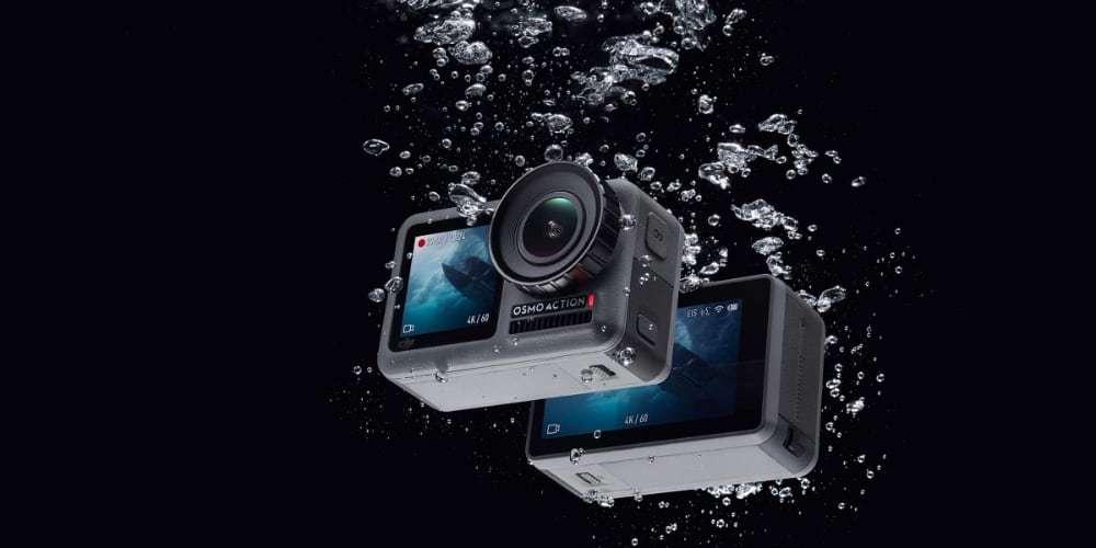 Экшн-камера DJI OSMO Action в воде
