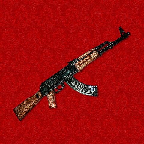 "Штоф ""Автомат Калашникова АК-47"""