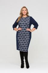 Платье Марьяна из плотного джерси 418072