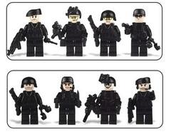 Минифигурки Военных Спецназ серия 381