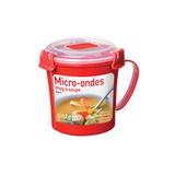 Кружка суповая Microwave 656 мл, артикул 1107, производитель - Sistema