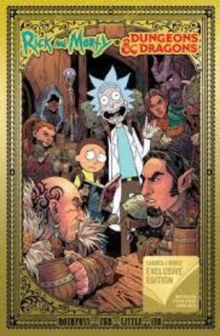 Rick and Morty vs. Dungeons & Dragons (Barnes & Noble Exclusive Edition)