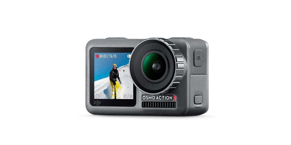 Экшн-камера DJI OSMO Action вид спереди