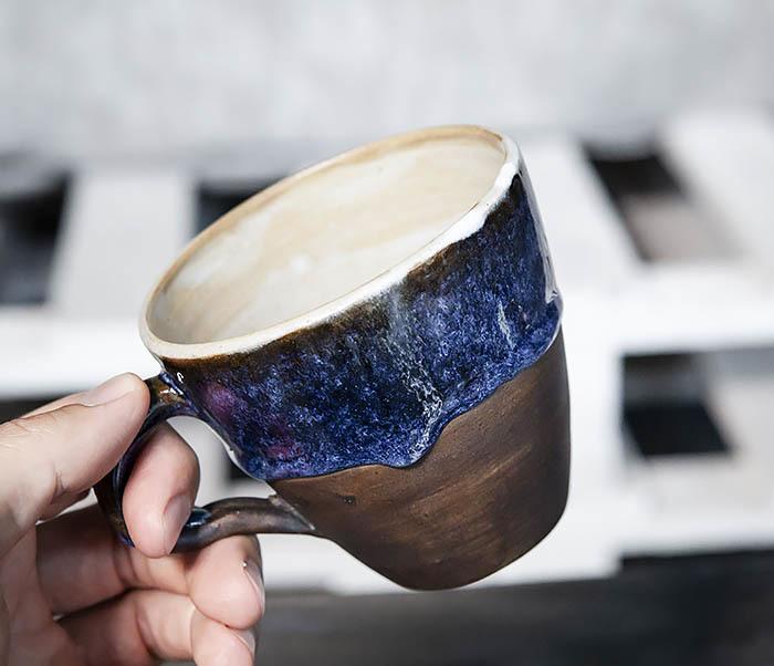 CUP102-1 Керамическая кружка ручной работы (200 мл) фото 04