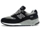 Кроссовки Женские New Balance 999 Black Grey White