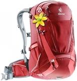 Рюкзак велосипедный женский Deuter Trans Alpine 28 SL cranberry-coral