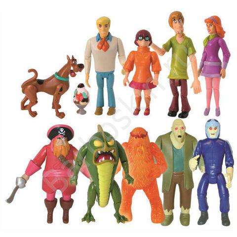 Игровой набор Скуби Ду Друзья и Враги - Scooby-Doo Friends & Foes, Hanna-Barbera