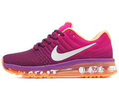 Кроссовки Женские Nike Air Max 2017 Purple Orange