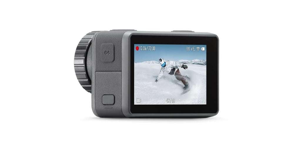 Экшн-камера DJI OSMO Action вид сзади