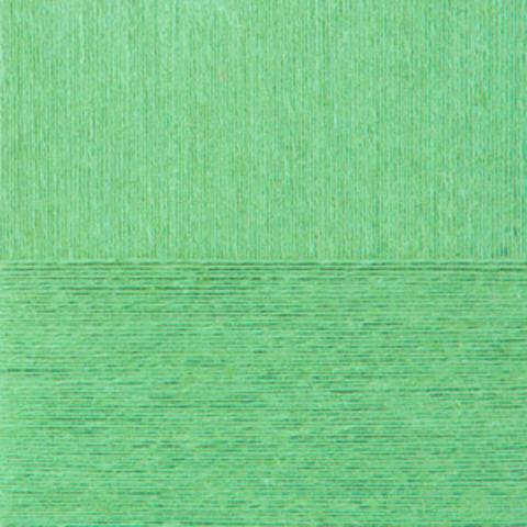 Пряжа Крапивная (Пехорка) 41 Салатовый, фото