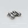 """Подвеска 3D """"Бинокль"""" 17х14 мм (цвет - античное серебро)"""