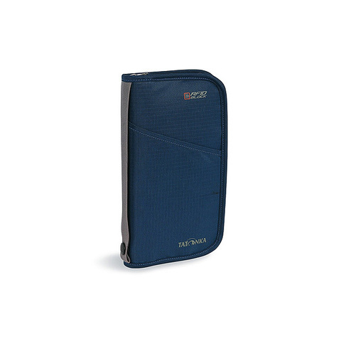 кошелек Tatonka TRAVEL ZIP L RFID navy