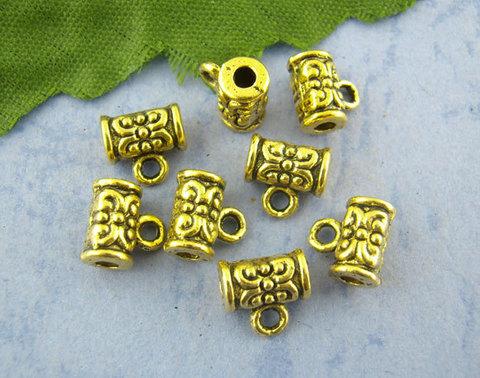 Бейл 7х4 мм (цвет - античное золото) (B00997C)