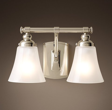 Bistro Double Sconce