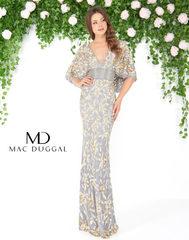 Mac Duggal 4574D Платье вышитое бисером, вверх