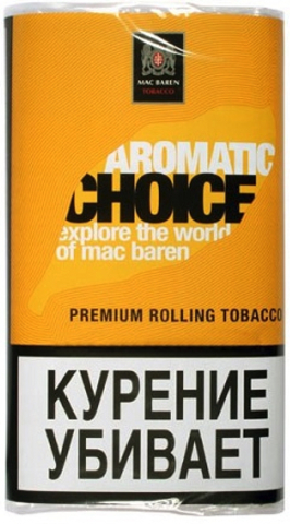Табак M.B.сигарет. AROMATIC CHOICE (p40gr)