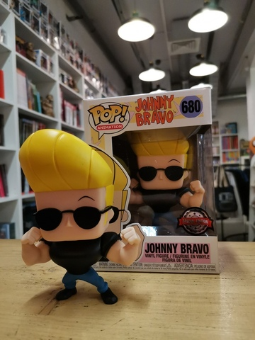 Johnny Bravo Special Edition Funko Pop! || Джонни Браво