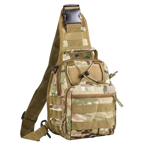 Тактический однолямочный рюкзак G4Free D04V Multicam