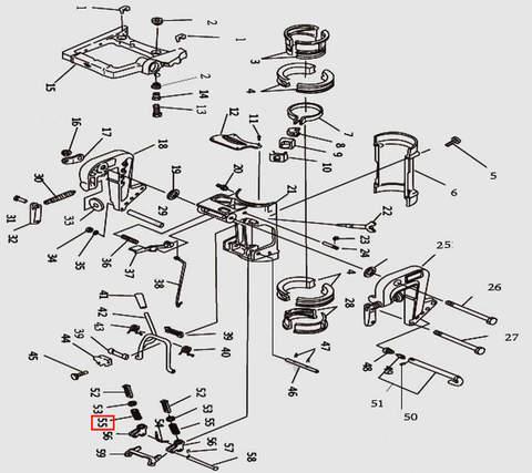 Пружина для лодочного мотора T9.8 Sea-PRO (11-55)