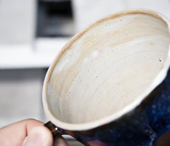 CUP102-1 Керамическая кружка ручной работы (200 мл) фото 07