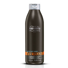 L'Oreal Professionnel Homme Fiberboost - Уплотняющий шампунь-уход от выпадения волос