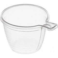 Чашка одноразовая для хол/гор, 180 мл, прозрачная, ПП, 50 шт./уп.