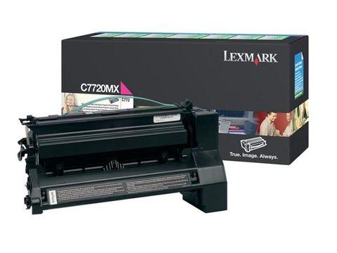 Картридж для принтеров Lexmark C772 пурпурный (magenta). Ресурс 15000 стр (C7720MX)