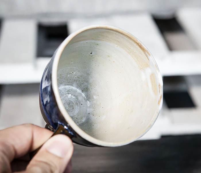 CUP102-1 Керамическая кружка ручной работы (200 мл) фото 08