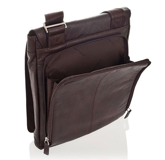 Сумка Piquadro Vibe, цвет коричневый, 25,5x30,5x4 см (CA2966VI/TM)