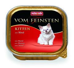 Animonda Vom Feinsten Kitten паштет для котят с говядиной 100гр