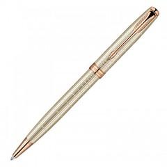 Шариковая ручка Parker Sonnet K535 VERY PREMIUM Feminine (серебро 925 пробы, 12.84), цвет: Silver PGT, стержень: Mblack, 1859493