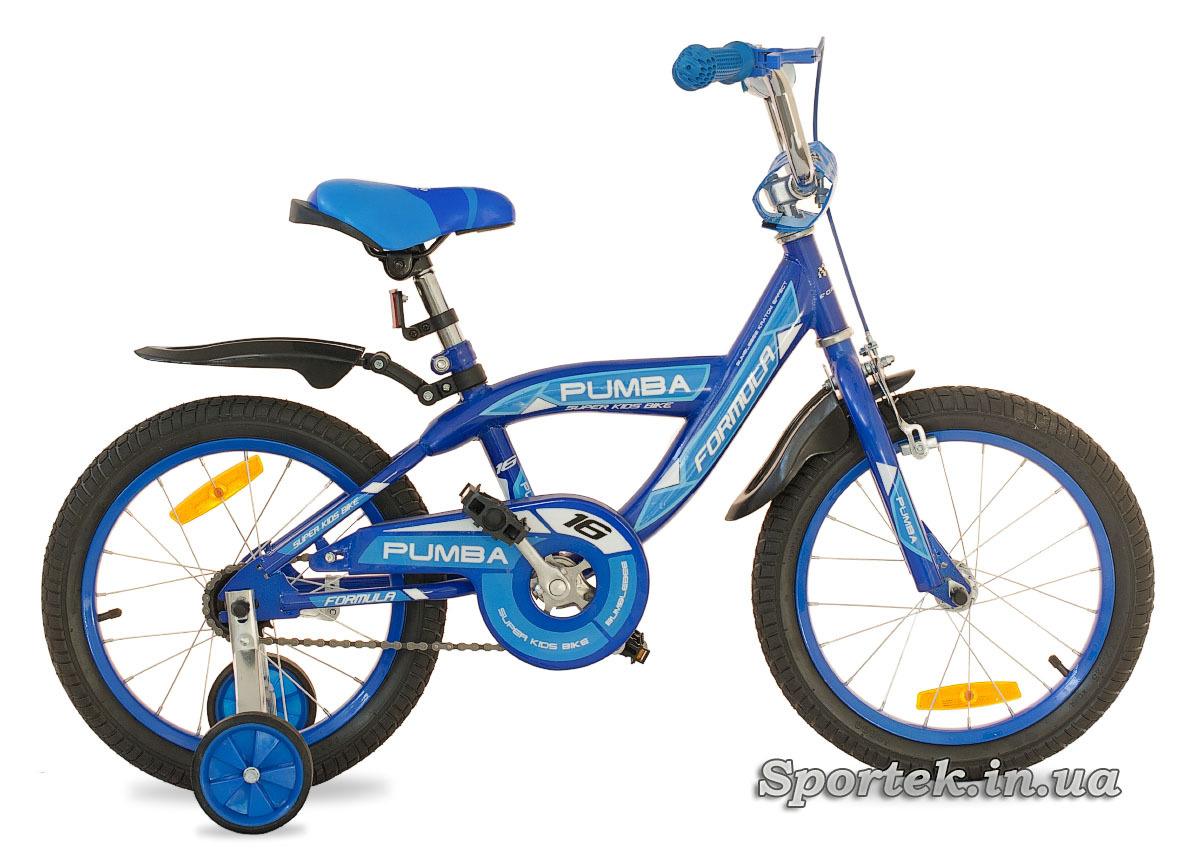 Синий детский велосипед Formula Pumba