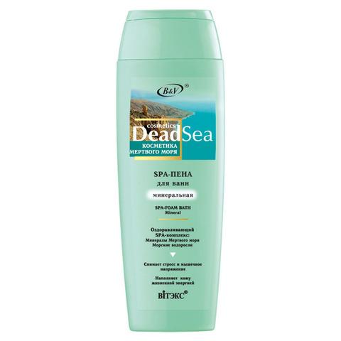 Витэкс Косметика Мертвого Моря Spa - пена для ванн минеральная 400 мл