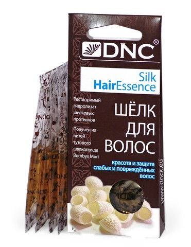 DNC Шелк для волос 4x10мл