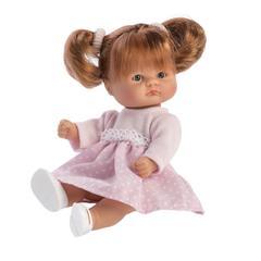 ASI Кукла-пупсик в розовом платье , 20 см (114660)
