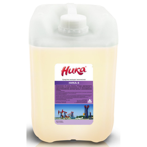 Профессиональная химия Ника-4, 5.0 кг, cр-во моющее техническое, канистра