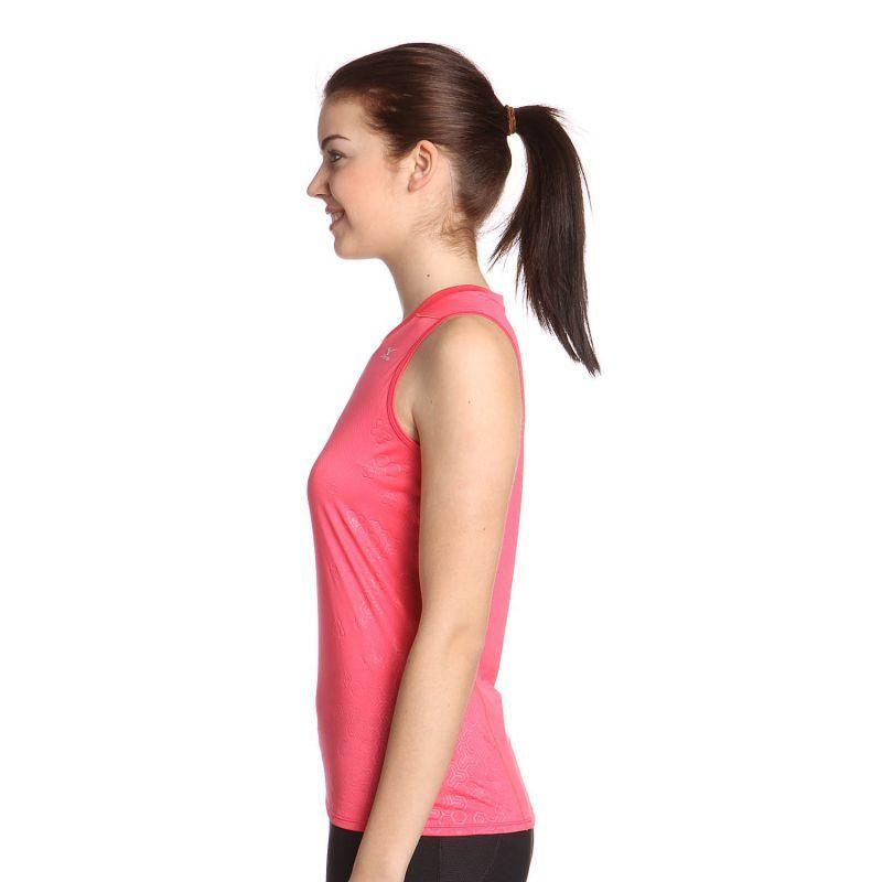 Женская легкоатлетическая майка Mizuno DryLite Singlet  (77HW320 64) розовая