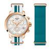 Купить Женские часы Tissot T-Sport Quickster T095.417.37.117.01 по доступной цене