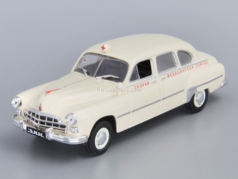 GAZ-12B ZIM-12B Ambulance USSR 1:43 DeAgostini Service Vehicle #1