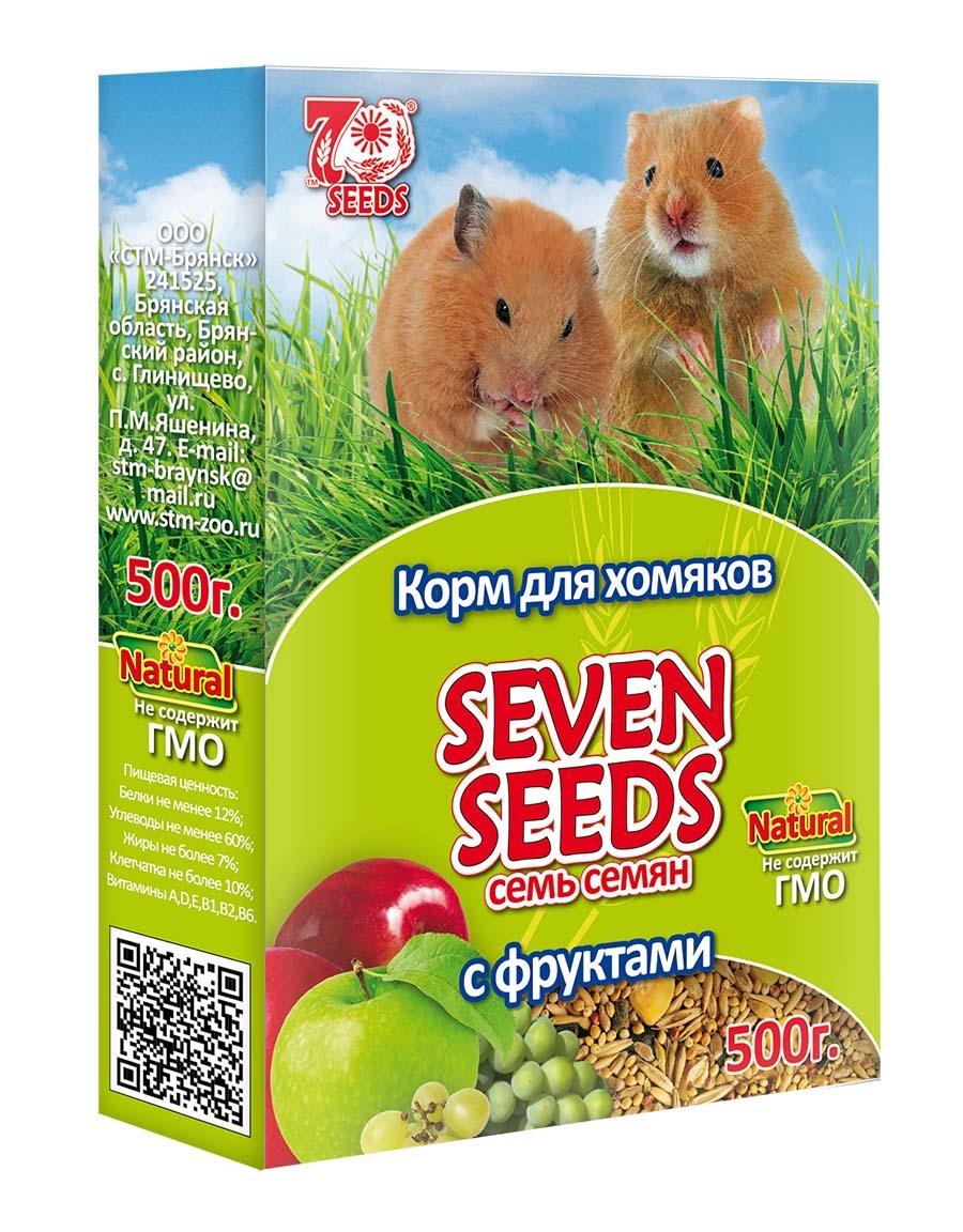 Seven Seeds Корм для хомяков с фруктами Seven Seeds 6.jpg