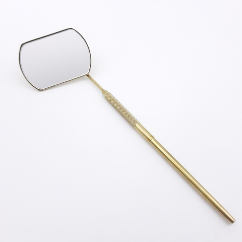 Зеркало для наращивания ресниц, правша/матовое, MR-01TG
