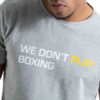 Футболка BoxRaw We Don`t Play Boxing Grey
